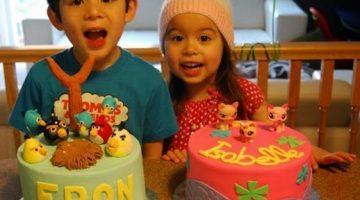 Amazing 3D Angry Birds Birthday Cake {Cake Magic}