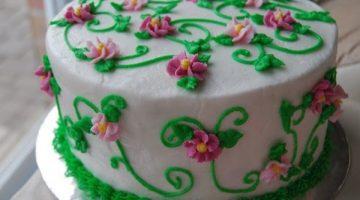 It's Spring! Floral Cake {Cake Magic}