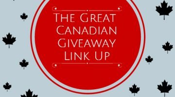 The Great Canadian Giveaway Link-Up ~ Week of Jan.5th
