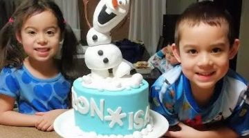 Do You Want to Build a Snowman? Amazing 3-D Frozen Olaf Cake {Cake Magic}