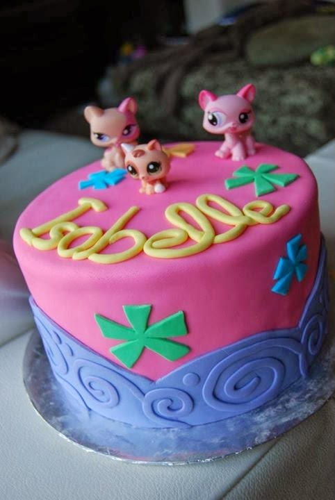 Stupendous Littlest Pet Shop Birthday Cake Cake Magic Maple Leaf Mommy Funny Birthday Cards Online Elaedamsfinfo