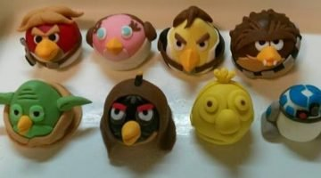 Amazing Angry Birds Star Wars 3D Cake