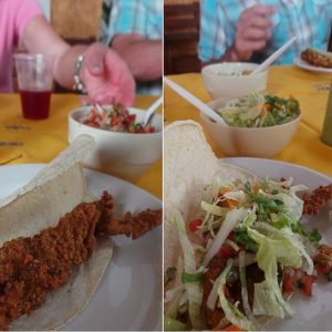 Puerto Vallarta is a foodie paradise, seen hereL taco tasting tour.