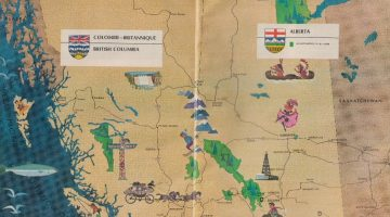 All Across Canada, 1967 Storybook Map