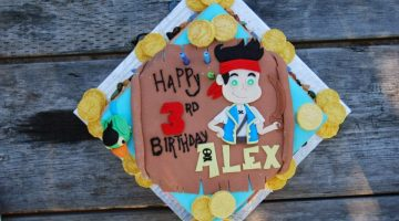 Jake and the Neverland Pirates {Cake Magic}