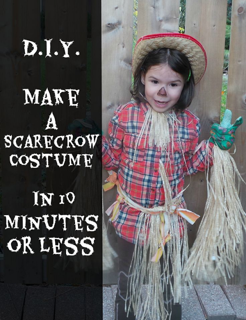 Quick, Easy, & Cheap - Scarecrow Halloween Costume