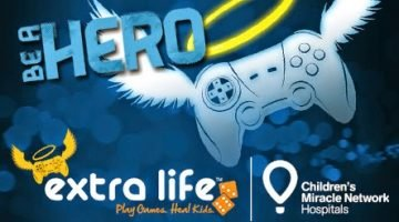 24 Hour Marathon Gaming with Extra Life to Raise Donations for the Sick Kids Hospital in Toronto