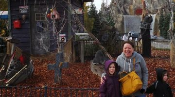 An Autumn Visit to Canada's Wonderland & Halloween Fun with the Kids at Camp Spooky