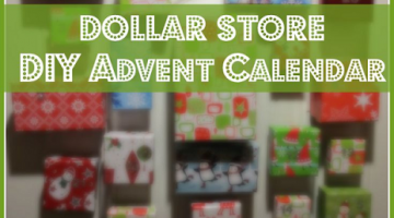 Get Creative – DIY Magnetic Advent Calendar – Make it in 30 minutes for Under $20
