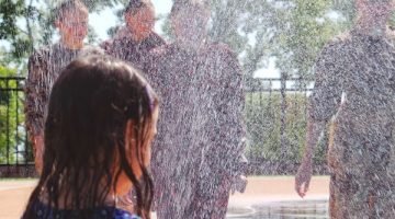 Do Mennonites Play at the Splashpad?