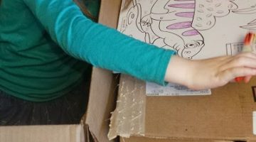 At Seven the Box is Still the Best Part {not so Wordless Wednesday}