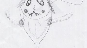 The Joker Fish, Bizarre Kid Art