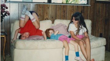 Family Portrait, the Silly Kids Edition – 1980s Style