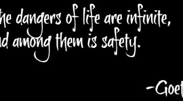 On the Dangers of Safety….