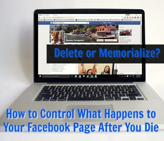 wHAT WILL HAPPEN TO YOUR FACEBOOK PAGE WHEN YOU DIE?