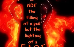Education is a FIRE….
