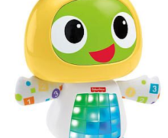 New Robot Adorableness from Fisher Price: Bright Beats Dance and Move BeatBo {#PlayAdvocate Giveaway}