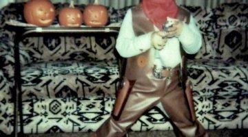Halloween Cowboy, Circa 1980