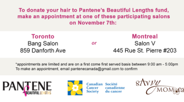 Take the Pantene Beautiful Lengths #8or8 Challenge for National Donate Your Hair Day