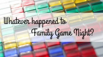 What happened to Family Game Night?