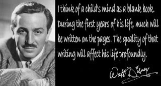 What You Write Into a Child's Mind…