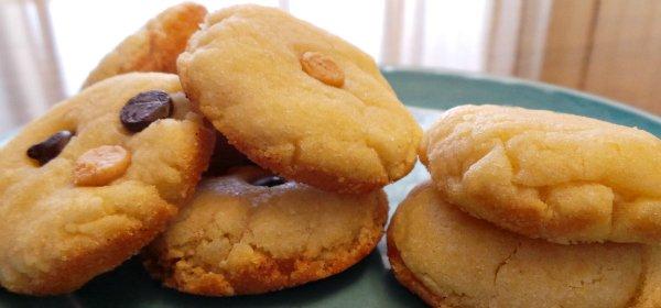Soft chewy sugar cookie recipe.