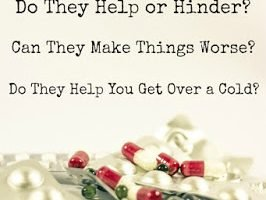 Do Cold Medications Help, Or Do They Make You Sick(er)?