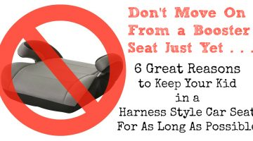 Why You Should Keep Your Kids in a Harness Car Seat For As Long As Possible