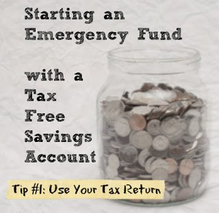 use your tax return to start an emergency fund