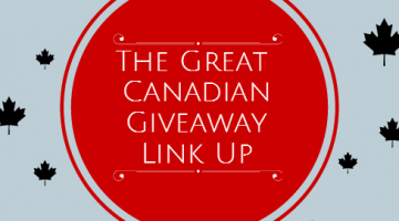 The Great Canadian Giveaway Link-Up ~ Week of Jan.19th