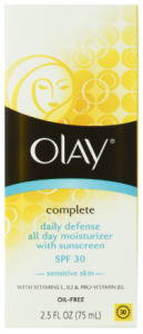olay complete daily defense spf 30