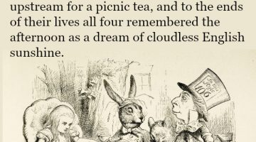 Alice knew, the company makes the weather…