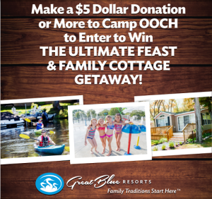 donate_to_camp_ooch_and_win_a_family_cottage_getaway_with_Great_Blue