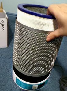 The Dyson Pure Cool Link's HEPA air filter.
