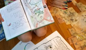 DIY_make_at_home_book_of_dragons_one_page