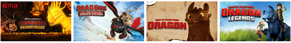 Dreamworks Dragons now streaming on Netflix