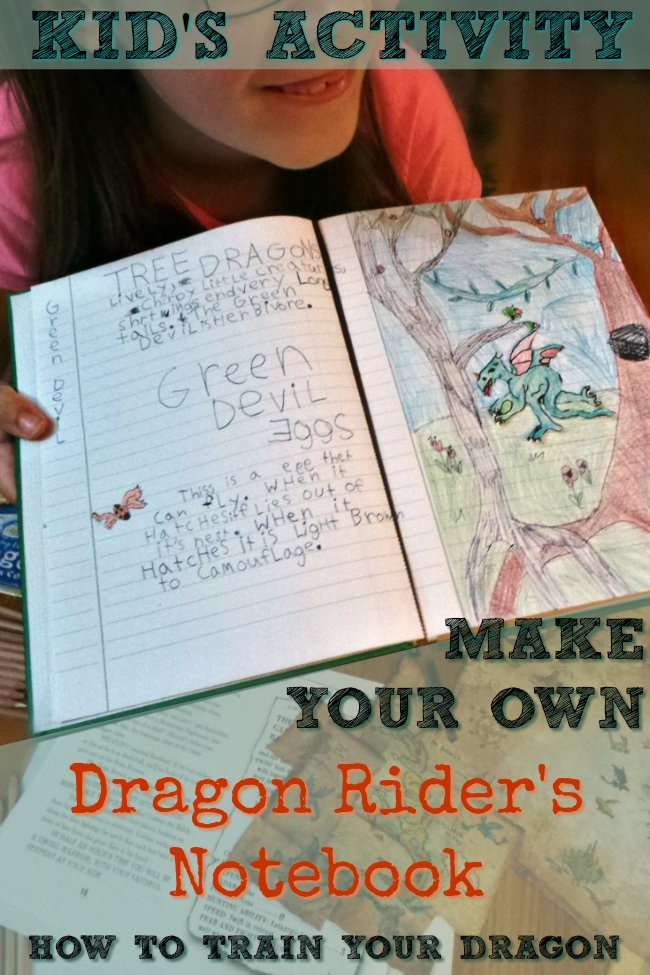 Here's a great activity for kids -- help them create their own Book of Dragons (like Hiccup, from the How to Train Your Dragon series). Check out these tips and tricks to help your child make a cool book of their own. Includes a detailed list of online resources to help get your started.