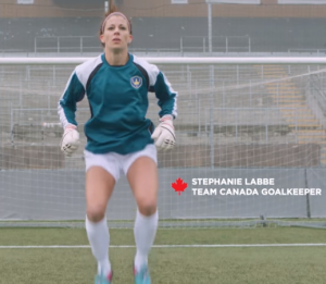 Team Canada GoalKeeper, Stephanie Labbé
