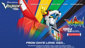History of Voltron, Defender of the Universe