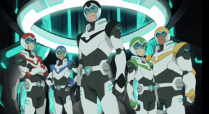 The team of Paladines that form Voltron's pilots.