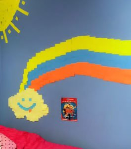 staples-stickies-mural-inspired-by-middle-school-the-worst-years