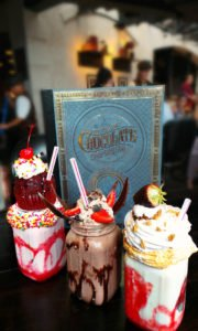 Divine milkshakes at Toothsome Chocolate Emporium