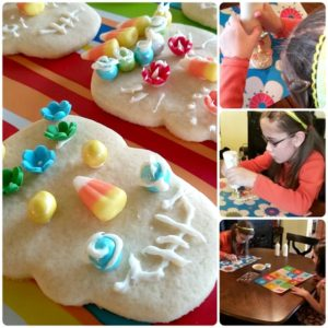 Make your own Day of the Dead sugar cookies with your kids.