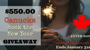 Kickstart Your New Year with $550 Cash! {CANADA ONLY Giveaway}