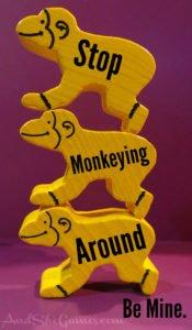 Monkey Animeeple Valentine for Board Gamers