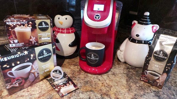 using Van Houtte holiday blend to make meat pies
