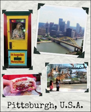 Canadian family travel to Pittsburgh USA