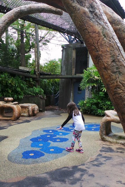 Waterplay spaces with Jurassic Park's Camp Jurassic.
