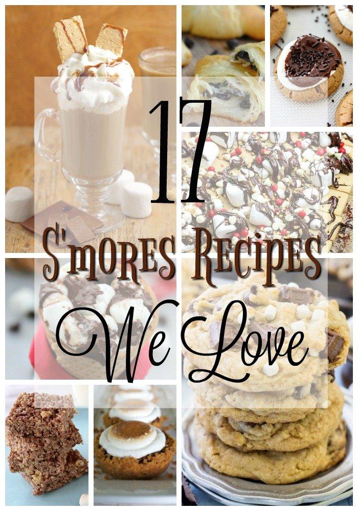 17 Smores Recipes We Love
