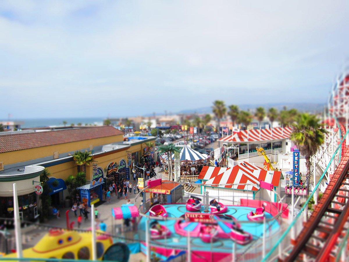 Belmont Park Mission Beach San Diego -Courtesy Minh Tra